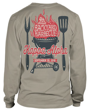 Kappa Alpha Order Cook-out T-shirt