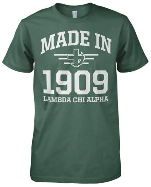 Lambda Chi Alpha Founding Day T-shirt