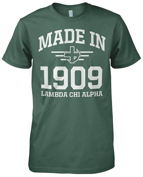 Lambda Chi Alpha Founding Day T-shirt