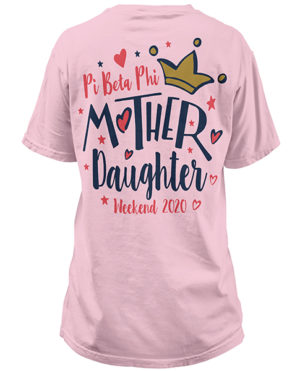 Pi Phi Mother Daughter Shirt