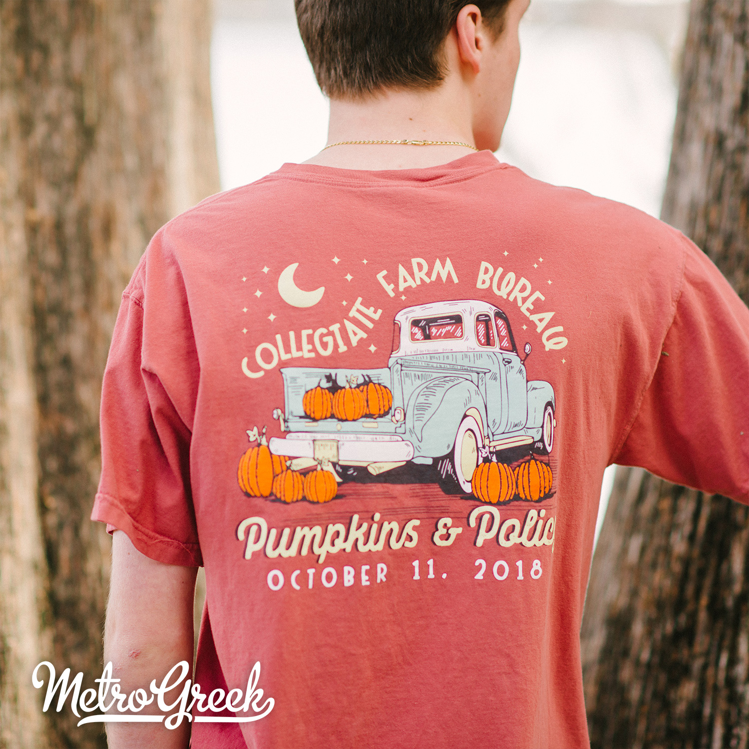 Greek Pumpkin Patch T-shirt