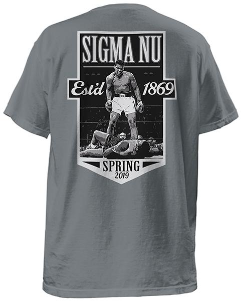 Sigma Nu Rush T-shirt-Boxing