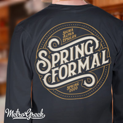 Greek Spring Formal T-shirt