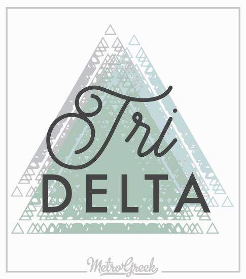 Delta Delta Delta Triangle Tank Top
