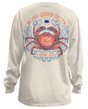 Alpha Gamma Delta Spring Formal T-shirt