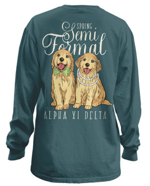 Alpha Xi Delta Semi Formal Shirt