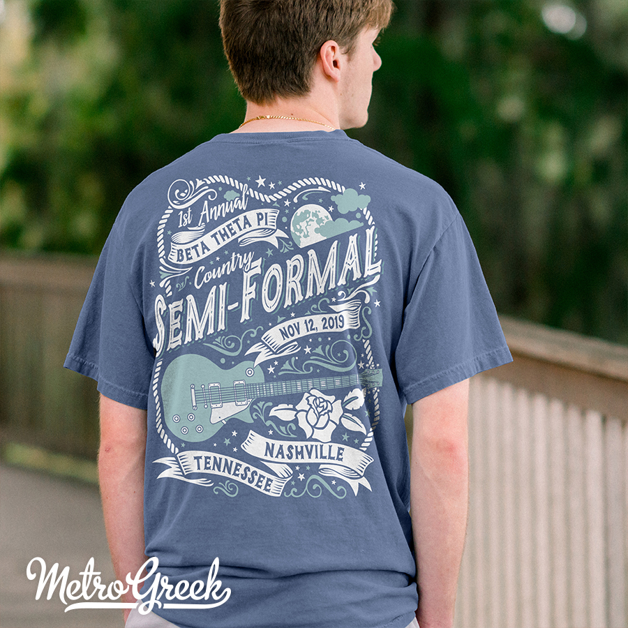 Beta Theta Pi Semi Formal T-shirt