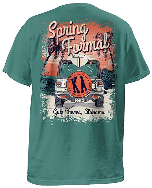 Kappa Alpha Spring Formal T-shirt