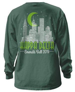 Kappa Delta Emerald Ball T-shirt