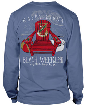 Kappa Sigma Beach Weekend Shirt