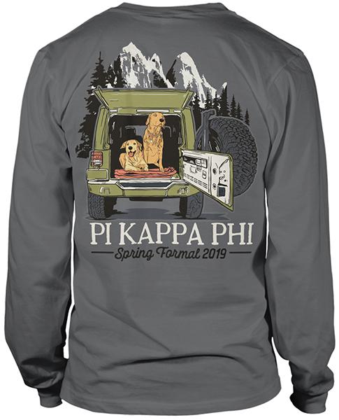 Pi Kappa Phi Spring Formal Shirt