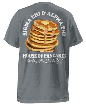 Sigma Chi Fundraiser Pancake T-shirt