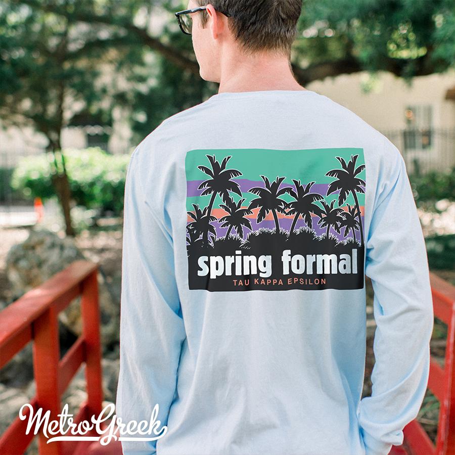 Teke Spring Formal T-shirt
