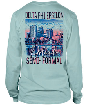 Delta Phi Epsilon Formal Shirt