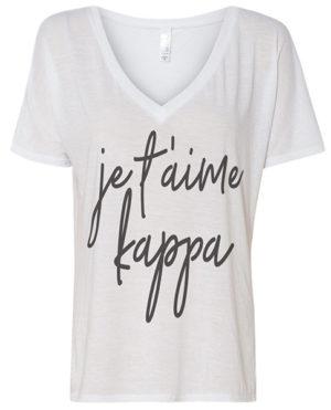 I love You Kappa T-shirt