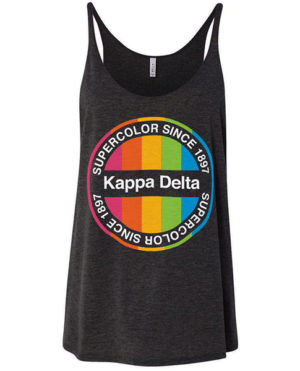 Kappa Delta Colorful Tank Tops