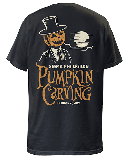 Sig Ep Pumpkin Carving T-shirt