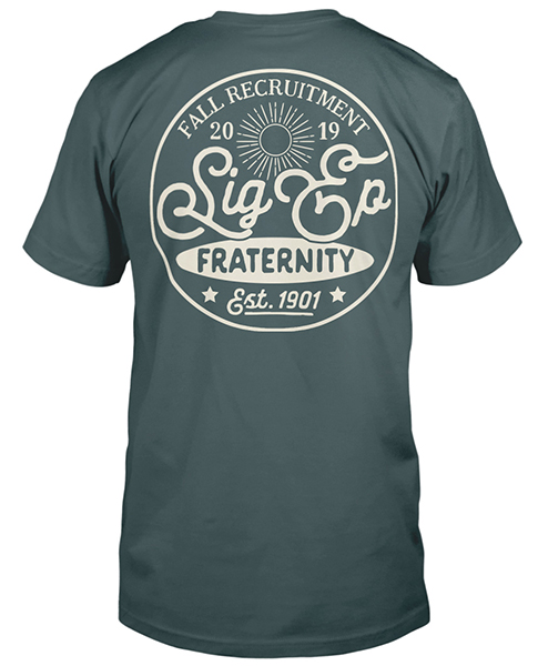 Sigma Phi Epsilon Recruitment T-shirt