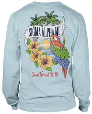 Sigma Alpha Mu Formal T-shirt