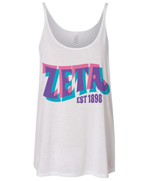 Zeta Tau Alpha Tank Top