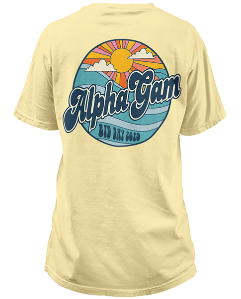 Alpha Gamma Delta Bid Day Shirt
