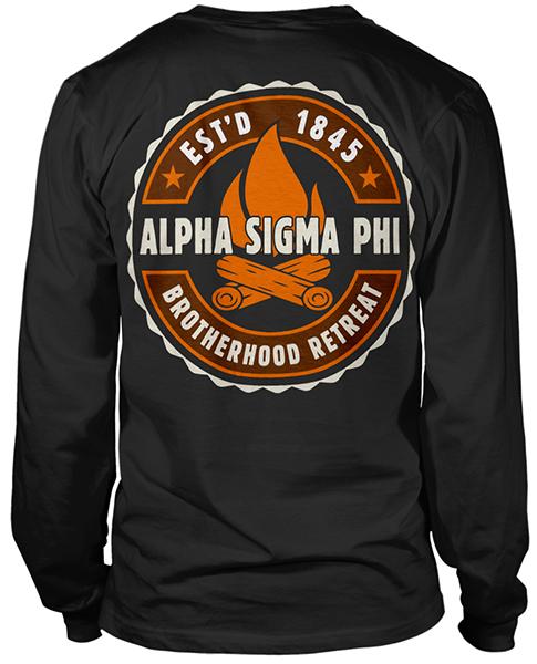 Alpha Sigma Phi Brotherhood Retreat T-shirt