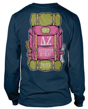 Delta Zeta Sisterhood Retreat T-shirt
