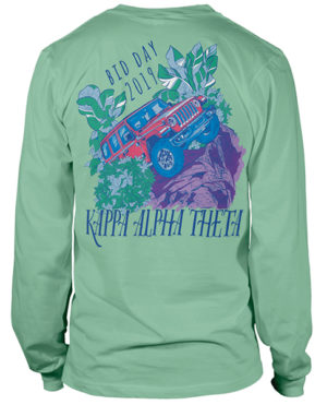 Kappa Alpha Theta Bid Day Shirt