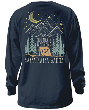 Kappa Mountain Weekend Retreat Shirt