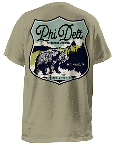 Phi Delta Theta Mountain Retreat Shirt