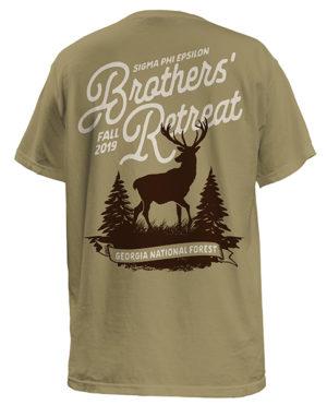 Sig Ep Brotherhood Retreat T-shirt