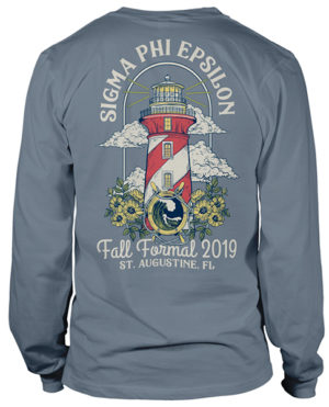 Sigma Phi Epsilon Formal T-shirt