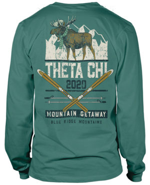 Theta Chi Mountain Retreat-shirt