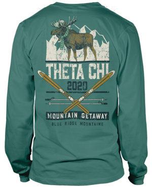Theta Chi Mountain Retreat-shirt
