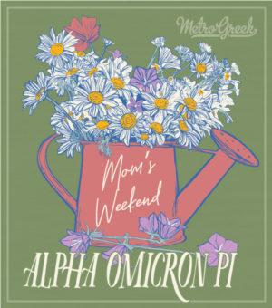 Alpha Omicron Pi Moms Weekend Shirt
