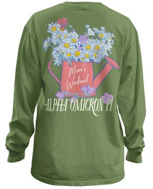 Alpha Omicron Pi Moms Weekend Shirt