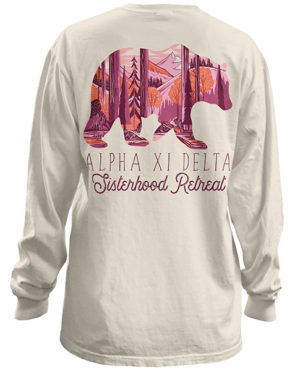 Alpha Xi Delta Sisterhood Retreat Shirt