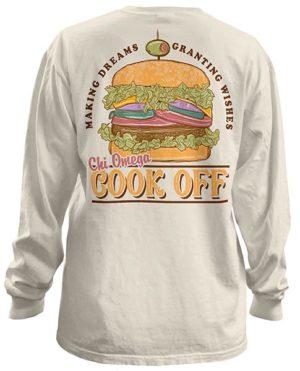 Chi Omega Cook Off Philanthropy T-shirt