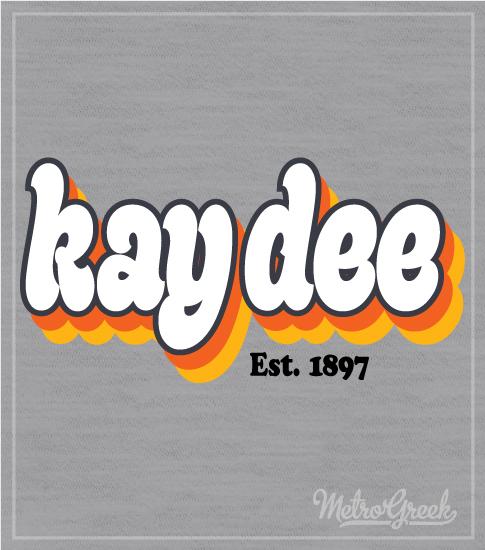 Kappa Delta Retro Shirt