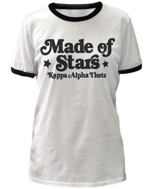 Made of Stars T-shirt Theta
