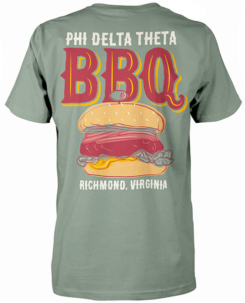 Phi Delta Theta Barbecue T-shirt