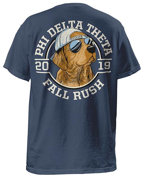 Phi Delt Rush Shirt Golden Lab