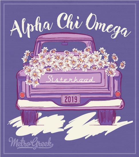 Alpha Chi Omega Sisterhood T-shirt