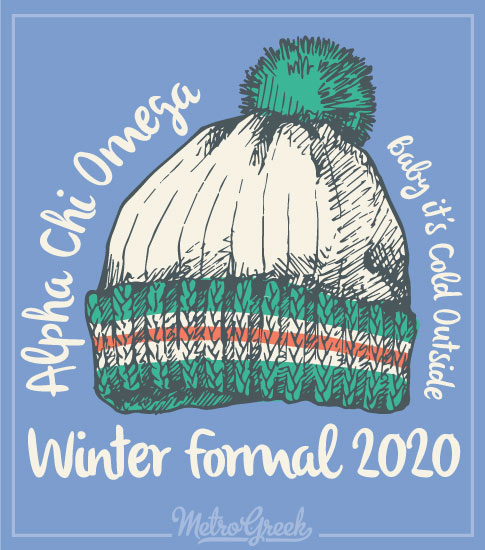 A Chi O Winter Formal Shirt