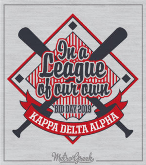 ADPi Bid Day Baseball Shirt