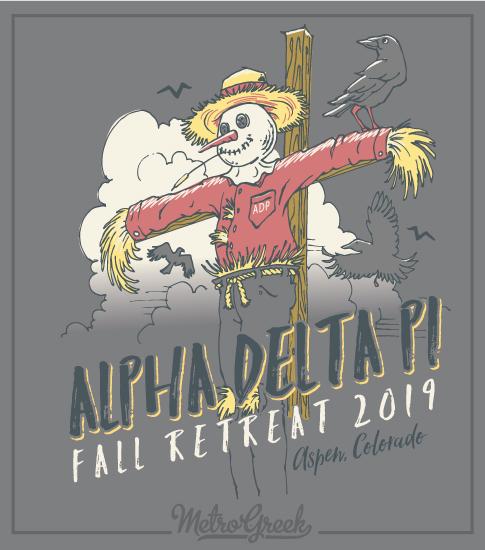ADPi Sisterhood Retreat T-shirts