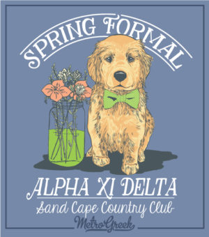 Alpha Delta Pi Sorority Formal Shirt