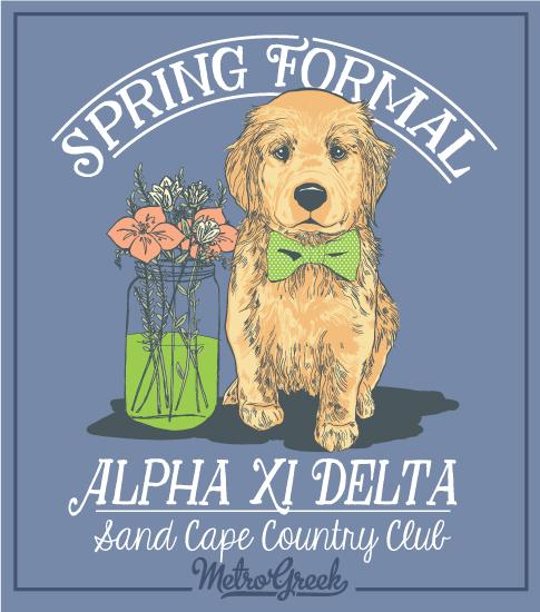 Alpha Delta Pi Sorority Formal Shirt