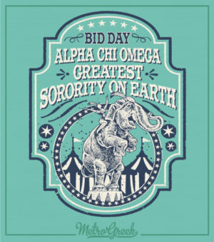 Alpha Chi Omega Bid Day Shirt