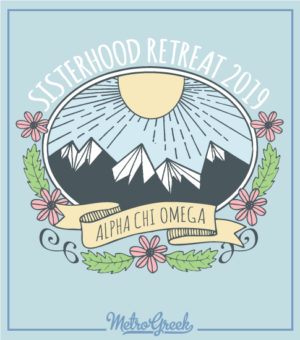 Alpha Chi Omega Sisterhood Retreat Shirt